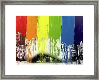 Bean Framed Print by Elliott From