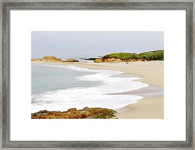 Bean Hollow State Beach Framed Print by Art Block Collections