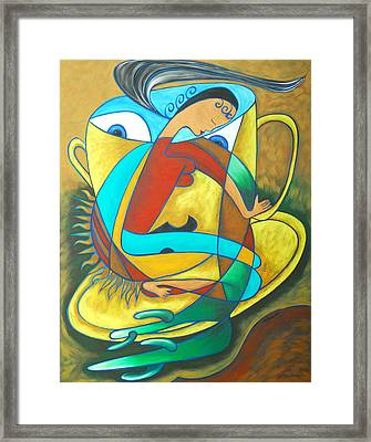 Bean Spirit Framed Print by Marta Giraldo