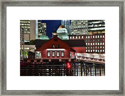 Bean Town Tea Party Museum Framed Print by Frozen in Time Fine Art Photography