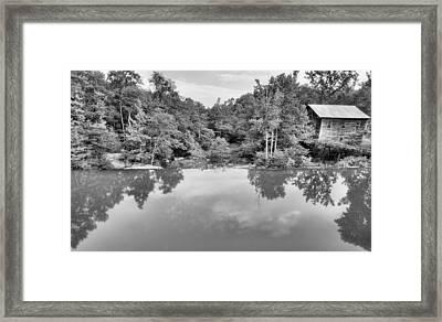 Bean's Mill Pond Framed Print