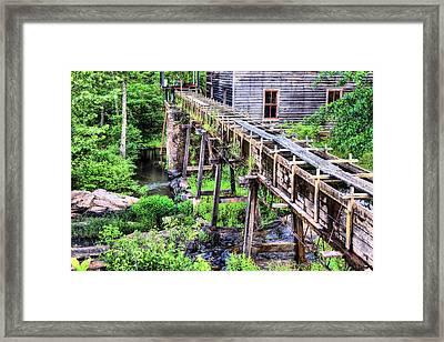 Bean's Sawmill Framed Print