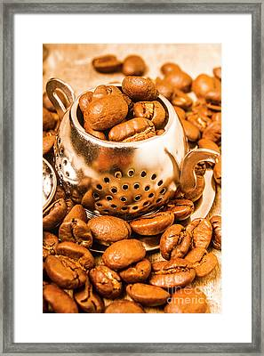 Beans The Little Teapot Framed Print by Jorgo Photography - Wall Art Gallery