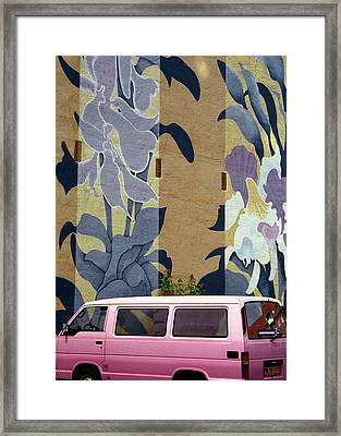 Framed Print featuring the photograph Beanstalk by Kenneth Campbell