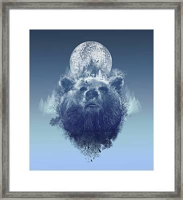 Bear 2 Framed Print