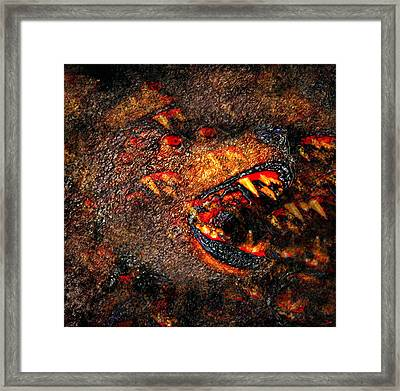 Night Attack Framed Print by David Lee Thompson
