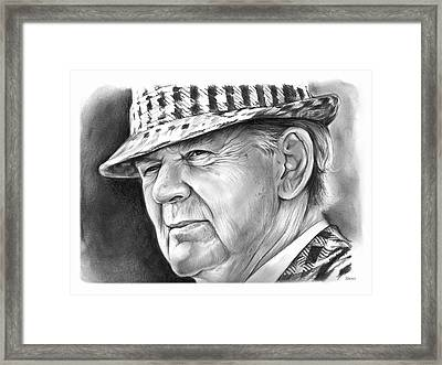 Bear Bryant 2 Framed Print