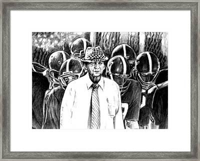 Bear Bryant 42816 Framed Print