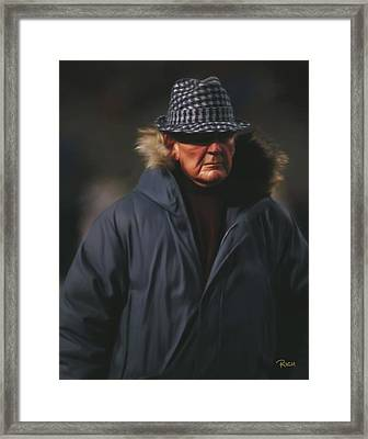 Bear Bryant Alabama Football Head Coach 02 Framed Print