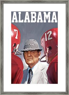 Bear Bryant Framed Print