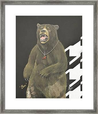 Bear Bryant Metaphor Framed Print