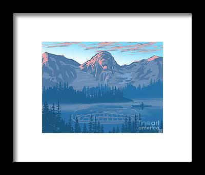 National Lakeshore Framed Prints