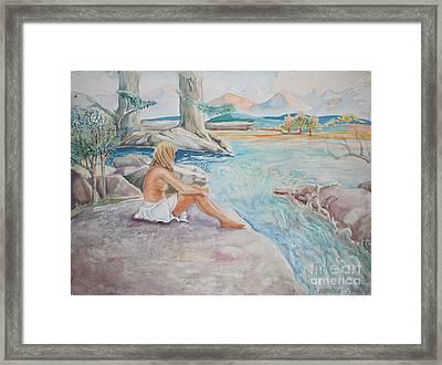 Bear Creek Framed Print by Catherine Moore
