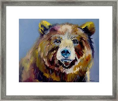 Bear Exposed Framed Print