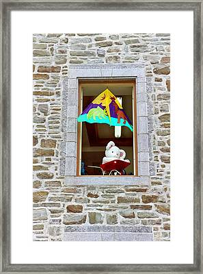 Framed Print featuring the photograph Bear Formally Known As Teddy by John Schneider