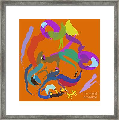 Bear  Framed Print by Go Van Kampen
