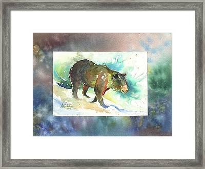 Bear I Framed Print