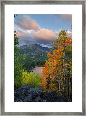 Bear Lake Autumn Framed Print