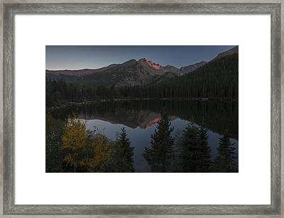 Bear Lake Framed Print