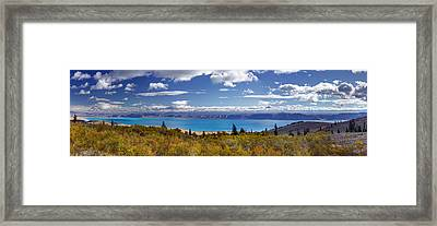 Bear Lake Panoramic Framed Print