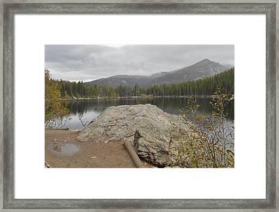 Bear Lake Splendor Framed Print by Julie Grace