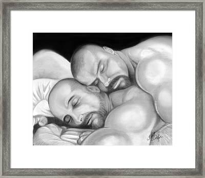 Bear Love 5 Framed Print by Brent  Marr