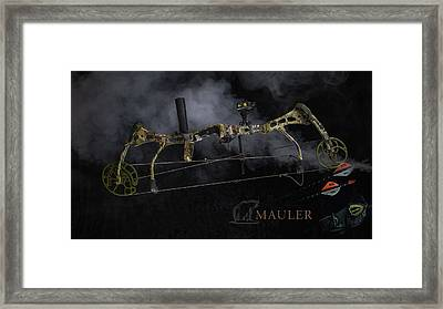 Framed Print featuring the photograph Bear Mauler by Tim Nichols