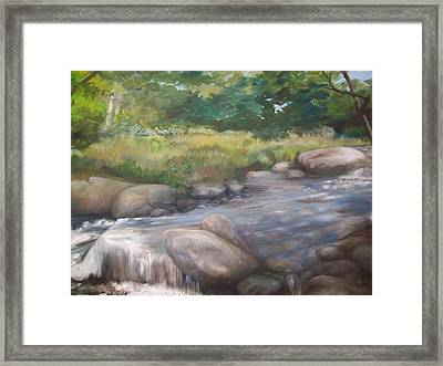 Bear River Framed Print by Chris Wing
