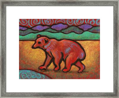 Bear Totem Animal Framed Print