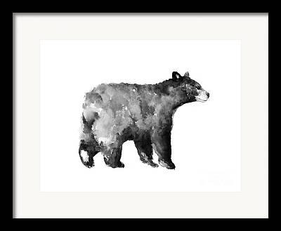 Bear Framed Prints