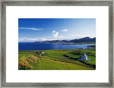 Beara Penninsula, Co Kerry, Ireland Framed Print by The Irish Image Collection