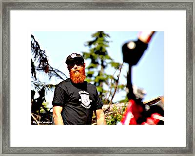 Bearclaw Fire Framed Print
