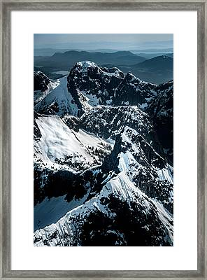 Beartooth Mountain Bc Framed Print