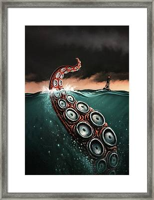 Beast 1 Framed Print by Jerry LoFaro