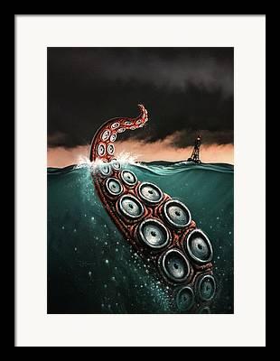 Buoy Framed Prints