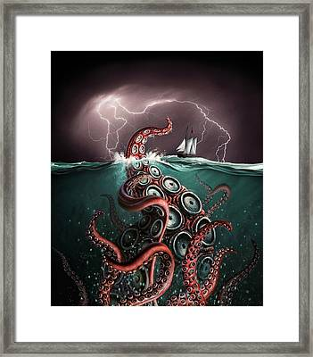 Beast 2 Framed Print by Jerry LoFaro