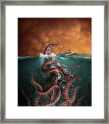 Beast 3 Framed Print by Jerry LoFaro