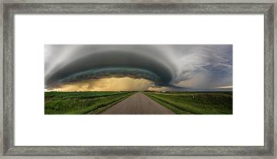 Framed Print featuring the photograph Beast by Aaron J Groen