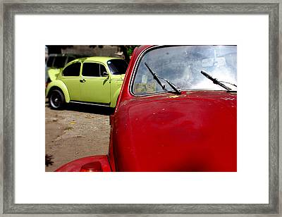 Beast Approaching Framed Print by Jez C Self