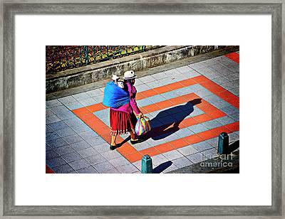 Beasts Of Burden Framed Print by Al Bourassa