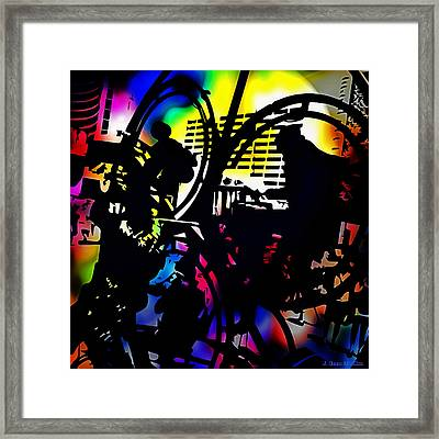 Beat Of The Street Framed Print
