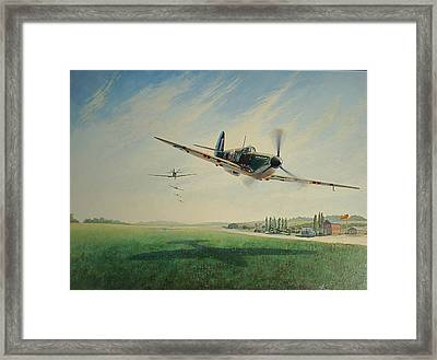 Beating Up Biggin Framed Print by  Keith Kochenour
