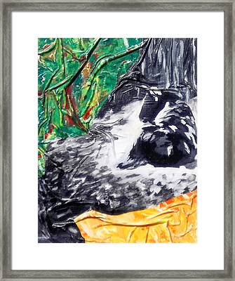 Beatitude  Framed Print by Hatin Josee