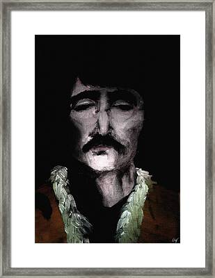 Beatle John Framed Print by Nicholas Ely