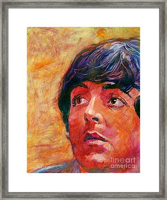 Beatle Paul Framed Print