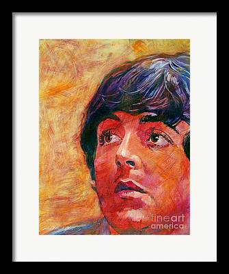 Paul Mccartney Framed Prints