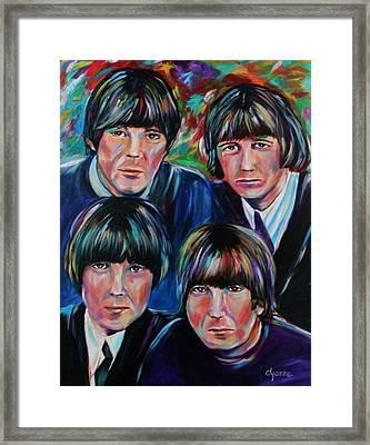 Beatles Framed Print by Dyanne Parker