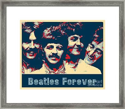 Beatles Forever Framed Print