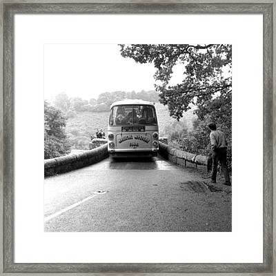 Beatles Magical Mystery Tour Bus Framed Print by Chris Walter