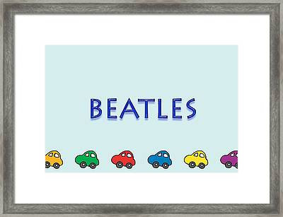 Beatles Framed Print by Tina M Wenger